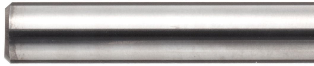 30 Deg Helix Extra Long Reach Uncoated 0.125 Cutting Diameter Finish Bright 3 Overall Length 0.125 Shank Diameter 4 Flutes YG-1 E5065 Carbide Square Nose End Mill