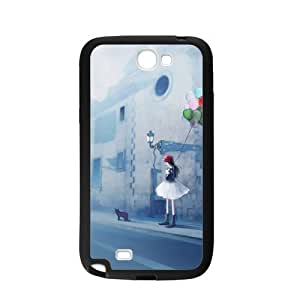 Case For Samsung Galaxy Note2 N7100,Beautiful Encounter Polycarbonate Hard Case Back Cover For Samsung Galaxy Note 2/Samsung Galaxy N7100 3D