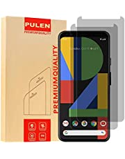 [2-Pack] PULEN for Google Pixel 4 XL Privacy Screen Protector,Anti-Spy Self-Adhesive Scratch Resistance Anti-Fingerprint No-Bubble Privacy Tempered Glass for Google Pixel 4 XL