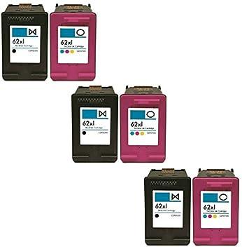 Printing Pleasure 6 XL Cartuchos de Tinta compatibles para ...