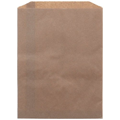 Kraft Flat Paper Bag 12'' x 15'' Case of 1000 by Retail Resource