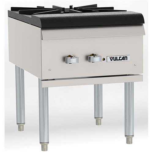 Commercial Gas Range - Heavy Duty Stock Pot Range, 18''W by Vulcan