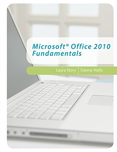 Microsoft Office 2010 Fundamentals (Middle School Solutions)