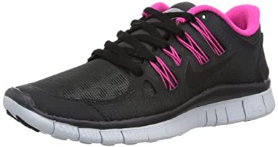 nike womens free 5.0+ shield running trainers