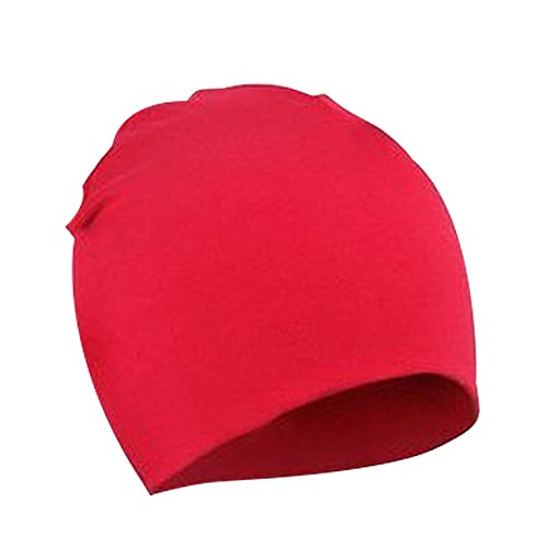 Century Star Unisex Soft Cotton Beanie Hat For Cute Baby Boy's/Girl's Lovely Toddler Infant Caps E Red (Fatigue Style Hat)