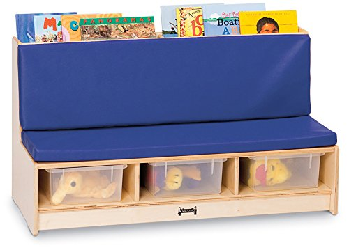 Jonti Craft Black Kitchen - Jonti-Craft 37460JC Literacy Couch, Blue