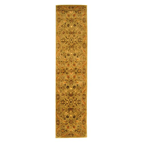 Traditional Rug - Antiquity Wool Pile -Olive/Gold Olive/Gold/Traditional/10'LX2'3