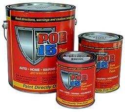 POR-15 45008 Gloss black Rust Preventive Paint - Pint