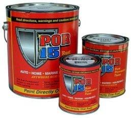 POR-15 Rust Preventive Paint - Semi-Gloss Black - Gallon by POR-15