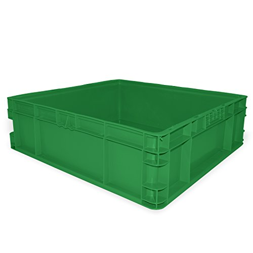 SSI SCHAEFER AF242207.AAGN1 Straight Wall Container, Polyeth