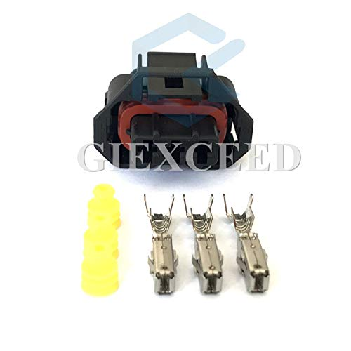 5 Sets 3 Pin 936060-1 Female Ford Falcon BA/BF Aux MAP Sensor Connector XR6 Turbo Models Alternator Repair Connector for Bosch ()
