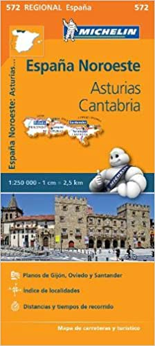 Mapa Regional Asturias, Cantabria (Carte regionali): Amazon ...
