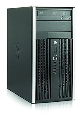 2017 HP Compaq Elite 6300 Tower Desktop PC, Intel Quad-Core i5-3470 3.2GHz 8GB DDR3 RAM, 120GB SSD+500GB SATA HDD (7200 rpm), DVD, WiFi, USB 3.0, Windows 10 Professional (Certified Refurbished)