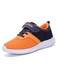 meet 0b07d b09f1 KVbaby Boys Girls Lightweight Sports Sneaker Breathable Mesh Velcro Tennis  Shoes Athletic Running Shoes