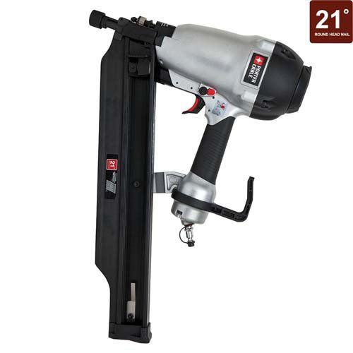 PORTER-CABLE FR350B 3-1/2-Inch Full Round Framing Nailer (Certified Refurbished)