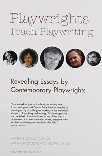 Kraus Crystal - Playwrights Teach Playwriting (Career Development Series)