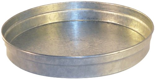 Speedi-Products SM-Cap 04 4-Inch Diameter Round Galvanized Caps Length Large End ()