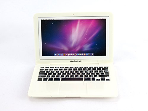 Silver Mini Laptop for 18 Inch Dolls- Fits 18