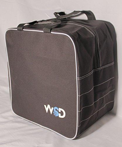 New WSD Logo Single Ski or Snowboard Boot Bag, Boot & Gear Bag WSD square New (Gray) by WSD