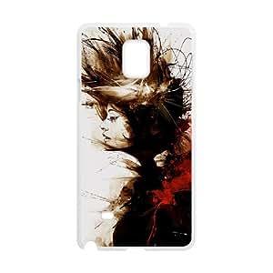 Graffiti Case For Samsung Galaxy Note 4 White Nuktoe721972