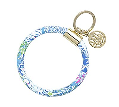 Lilly Pulitzer Bracelet Key Ring Chain