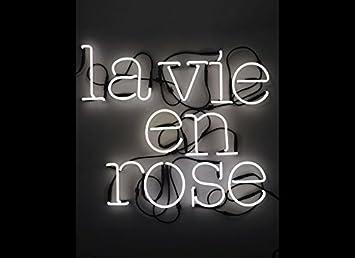 Seletti la vie en rose neon art neon applique designed by selab
