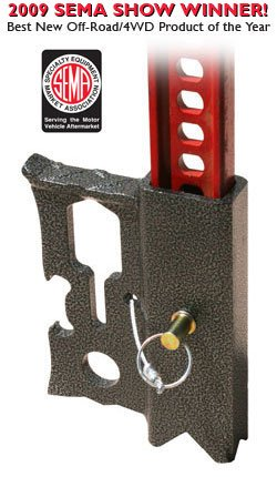 Jackmate - Hi-Lift Jack Accessory (Color - Black Silver Vein) (OFF-ROAD RECOVERY) by JackMate