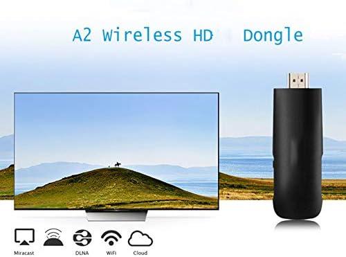 WQYRLJ Palillo de TV Internet inalámbrico de Alta definición MI Dongle 2.4Ghz WiFi Pantalla Receptor de la exhibición de Reflejos para iPhone Android para TV: Amazon.es: Hogar