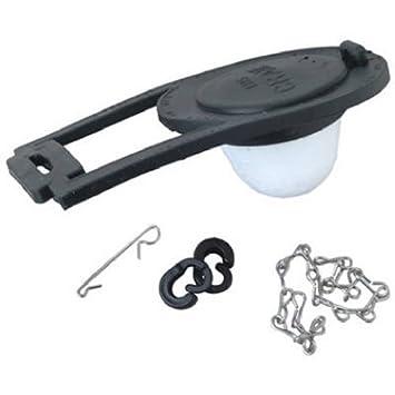 Master Plumber 822-505 3-Inch Toilet Flapper For Crane Brand Toilets ...