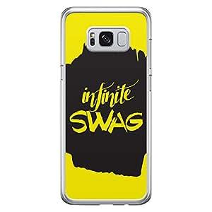 Samsung S8 Transparent Edge Case Infinte Swag -Multicolor