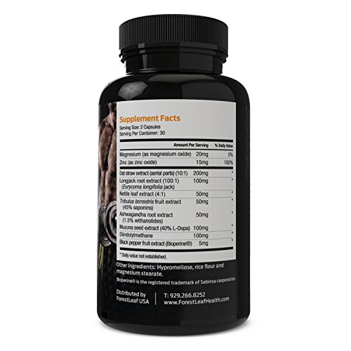 Max Strength Testosterone Booster Men S Supplement