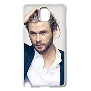 C-EUR Customized Print Brad Pitt Hard Skin Case Compatible For Samsung Galaxy Note 3 N9000