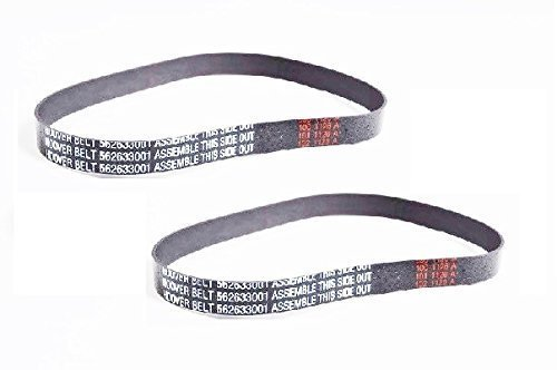 Hoover Nano Cyclonic UH20020 Upright Vac Non Stretch Belt 2 Pk Part # 562633001