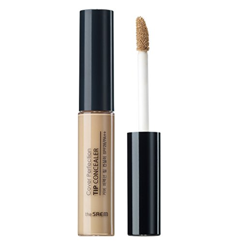 Price comparison product image [the SAEM] Cover Perfection Tip Concealer SPF28/PA++ 6.5g #2 Rich Beige