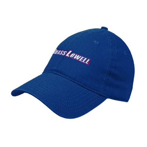 CollegeFanGear UMass Lowell Royal Twill Unstructured Low Profile Hat 'UMass Lowell'