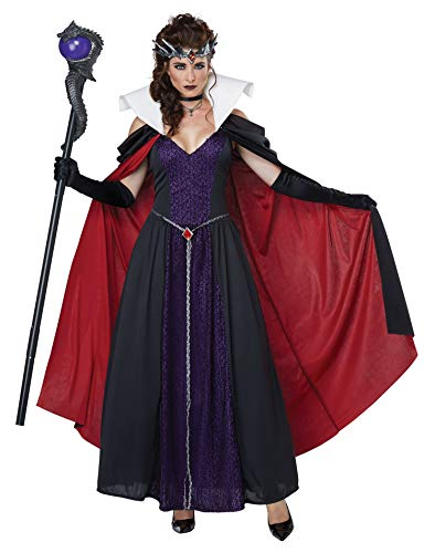 California Costumes Women's Evil Storybook Queen - Adult Costume Adult Costume, -black/Purple, Small