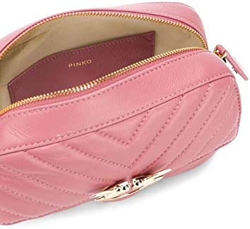 Pinko Luxury Fashion Donna 1P21QYY677Q03 Rosa Borsa A Spalla |