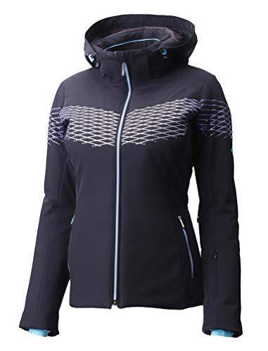 Descente Alessia Ski Jacket - Women's - 4, Black/Cerulean Blue