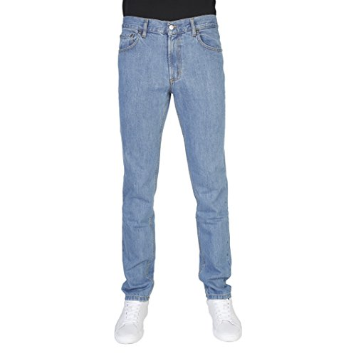 Carrera Jeans Pantalón Denim 15 Oz Con Zip Azul