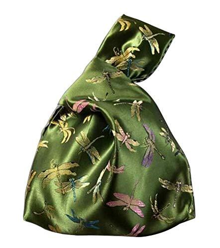 Bolso nudo de estilo japonés para mujer bolso de muñeca vintage monedero #02