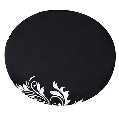 Fityle Elegant Removable Bar Stool Replacement Cover Round Chair Seat Cover Protector Desk Salon Sleeve - Style_8 by Fityle (Image #5)