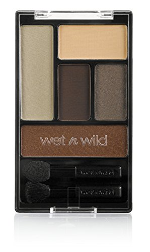 wet n wild Color Icon Eye Shadow Palette, The Naked Truth, 0.21 Ounce (Pack of 3)