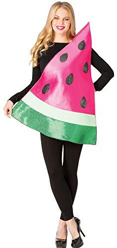 Rasta-Imposta Women's Watermelon Slice Theme Party Outfit Halloween Costume, One Size for $<!--$39.95-->