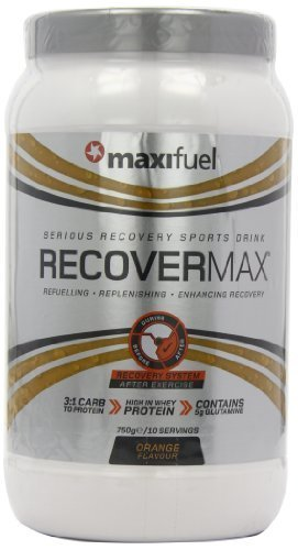 Maxifuel Recovermax 750 g Orange Muscle Repair Drink Powder by Maximuscle