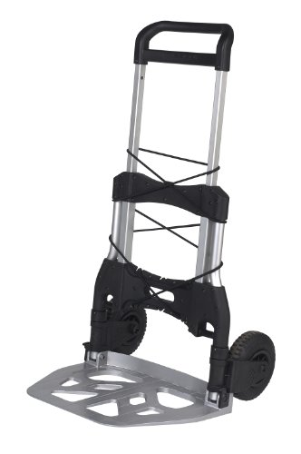 Wesco-220650-Aluminum-Mega-Mover-Lightweight-Folding-Truck-550-lb-Load-Capacity-47-Height-25-12-Depth-x-26-12-Width