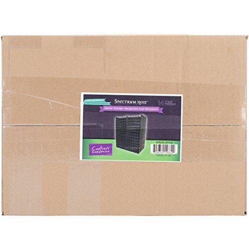 Spectrum Noir Marker Storage Black Holds 168 Markers in 14 Trays