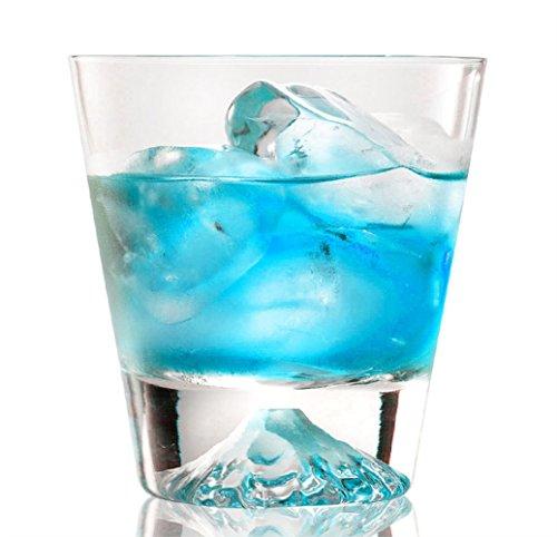 300ml Heat Resistant Snow Mountain Kung Fu Tea Cup Set, Milk Coffee Beer Wine Vodka Cocktail Whiskey Liquor Lead-free Crystal Glass Mugs