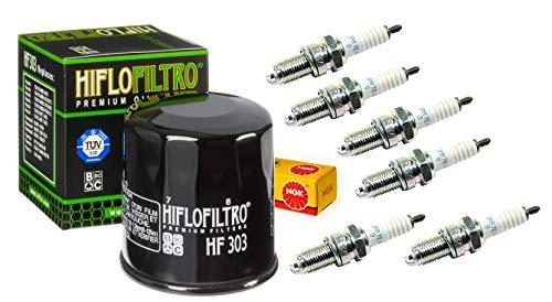 Oil Filter Spark Plug Tune Up Kit Honda GoldWing GL1500 SE, I, -