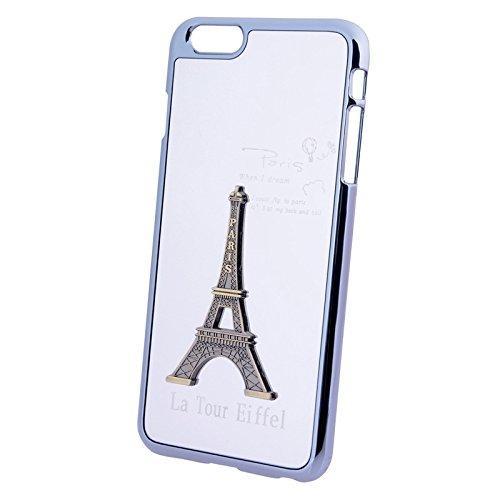 Phone Taschen & Schalen Für IPhone 6 / 6s, PC + TPU Kombi-Schutzhülle ( Color : Silver )