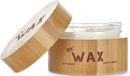 Da\'Dude Da\'Wax Super Strong Hold- Hair Styling Wax * Matte Finish * Paraben Free - Exklusive Luxus Bamboo Dose.
